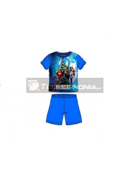 Pijama niño verano Avengers azul SE7382 3 años