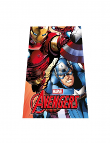Manta polar Los Vengadores - Iron Man y Capitán América