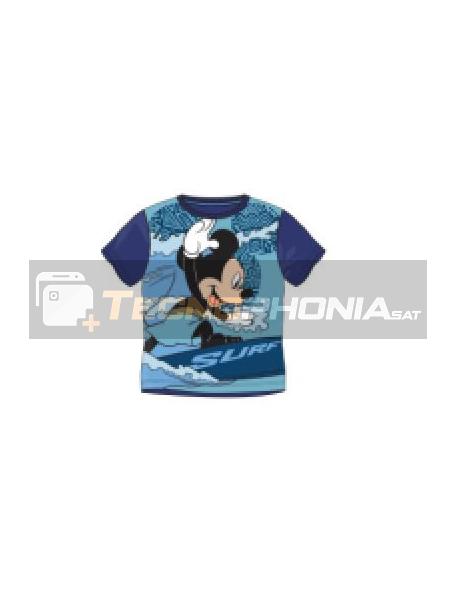 Camiseta niño manga corta Mickey - Surf Talla 8