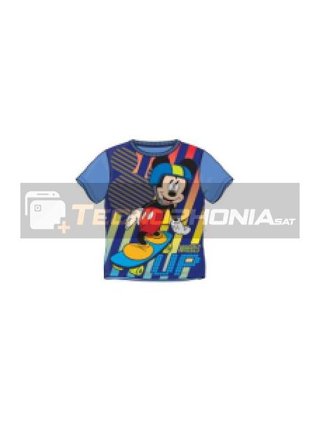 Camiseta niño manga corta Mickey - Up Talla 4