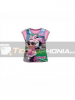 Camiseta niña manga corta Minnie - Gafas Talla 6