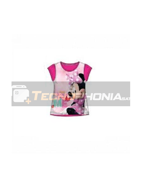 Camiseta niña manga corta Minnie - Me Talla 6