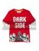 Camiseta niño manga corta Lego Star Wars - Dark side roja 6 años