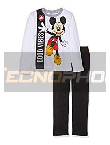 Pijama manga larga niño Mickey Mouse - Good Vibes 4 años 104cm
