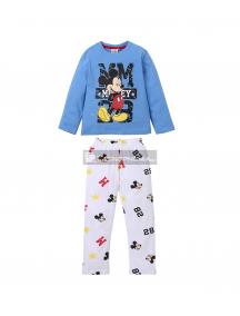 Pijama manga larga niño Mickey Mouse - MM 4 años 104cm