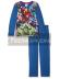 Pijama manga larga niño Los Vengadores azul 6 años 116cm