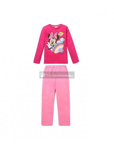 Pijama manga larga niña Minnie Mouse - Hi 8 años 128cm