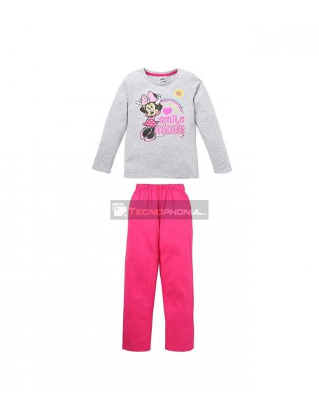 Pijama manga larga niña Minnie Mouse - Smile 8 años 128cm