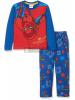 Pijama manga larga niño Spider-man azul estampado años 8 128cm