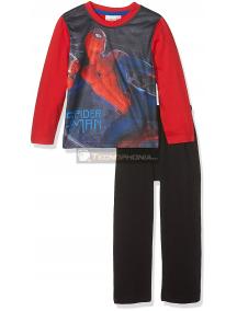 Pijama manga larga niño Spiderman - salto 4 años 104cm