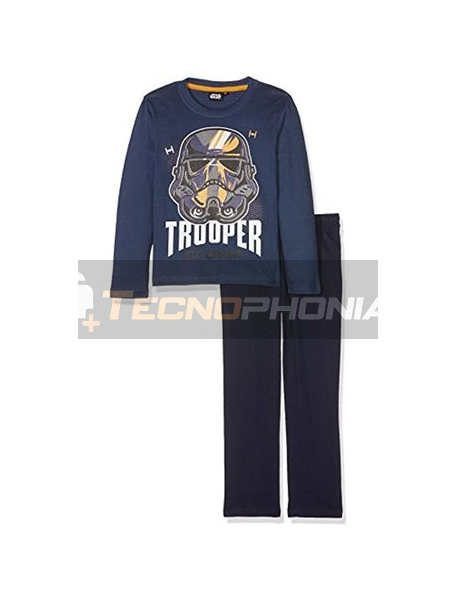Pijama manga larga niño Star Wars - Trooper 6 años 116cm