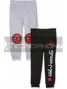 Pantalón chandal niño Spiderman GRIS 10 años 140cm