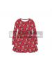 Vestido niña manga larga Minnie Mouse rojo 6 años