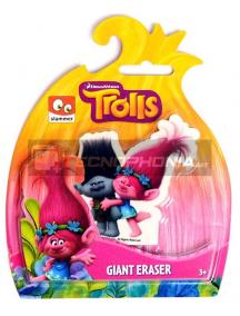 Goma gigante Trolls - abrazo 9x6cm