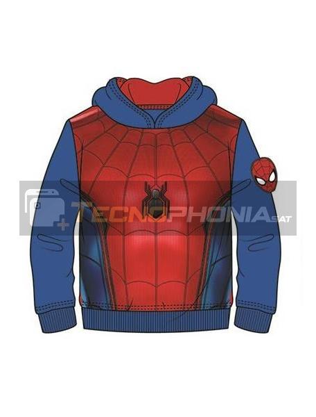 Sudadera Spider-man azul - roja 8 años