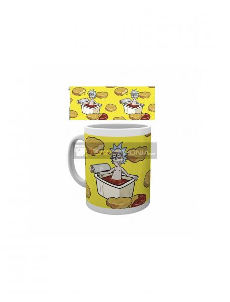 Taza cerámica 325ML Rick and Morty - Mc Nugget