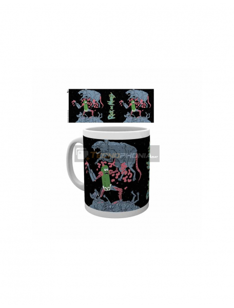 Taza cerámica 325ML Rick and Morty - Ratas