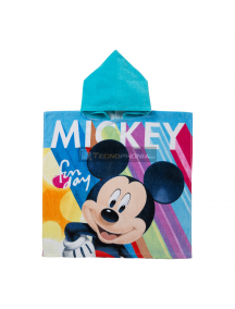 Poncho con capucha Mickey - Fun day