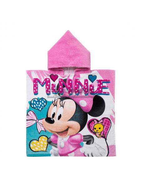 Poncho con capucha Minnie