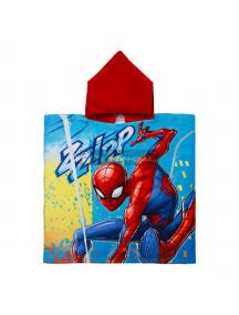 Poncho con capucha Spiderman - Zzipp