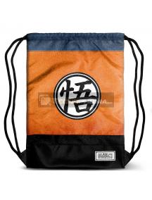 Saco mochila Dragon Ball Z 48x35x1cm naranja