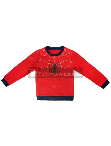 Sudadera Spiderman Marvel 5 años