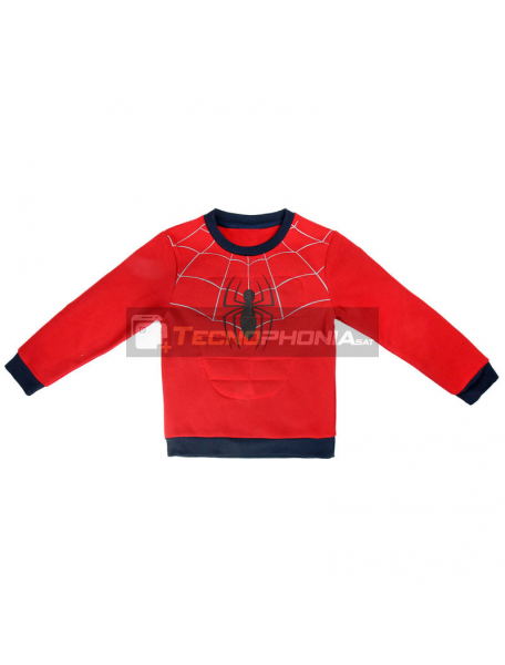 Sudadera Spiderman Marvel 7 años