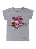 Camiseta niña manga corta LOL Surprise - Rock gris 5 años