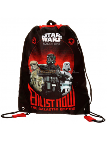 Saco mochila Star Wars Rogue One Enlist Now 40cm