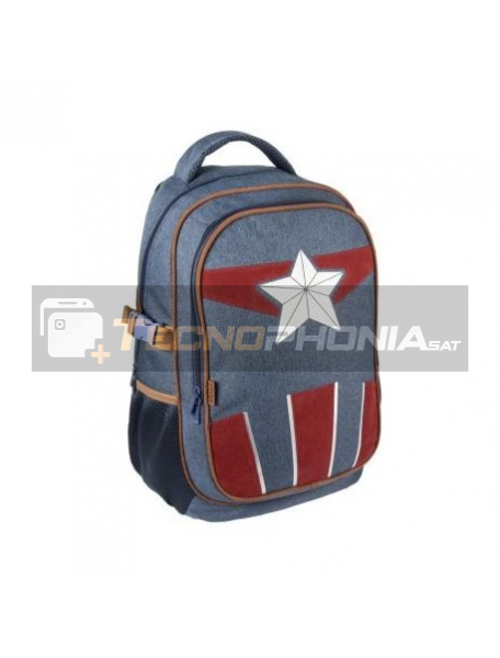 Mochila Capitán América Marvel 47x31x24