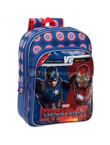 Mochila Capitán América Civil War Marvel Versus 33x42x16cm