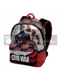 Mochila Capitán América Civil War 35x41x13,5cm