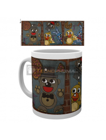 Taza cerámica 300ml Five Nights at Freddys - Vintage posters