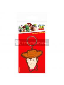 Llavero de goma Toy Story Disney Pixar - Woody