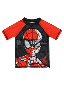 Camiseta niño lycra baño Marvel Spiderman Talla 3