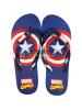 Chanclas adulto Marvel Cómics - Capitán América Talla 42 - 43