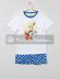 Pijama manga corta niño Dragon Ball Z blanco 8 años