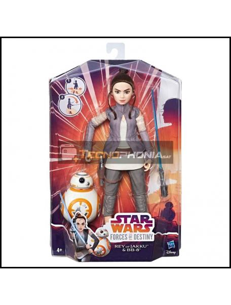 Figura Princesa Rey of Jakky y BB-8 Star Wars