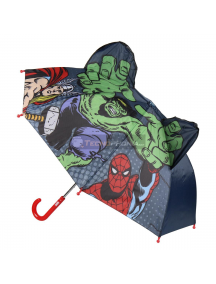 Paraguas Los Vengadores - Avengers Marvel 3D Hulk - Thor - Spiderman