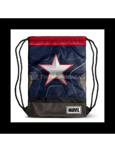 Saco Mochila Capitan America Marvel 48x35x1cm