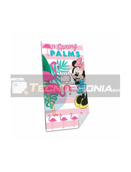 Toalla de playa Disney Minnie Mouse - Flamencos
