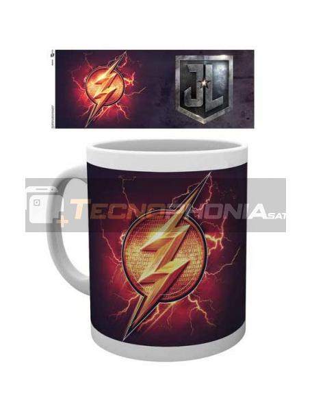 Taza cerámica 300ML Flash - La Liga de la Justicia