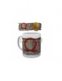 Taza cerámica 300ML Good Of War - Dragons