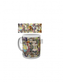 Taza cerámica 325ML Rick and Morty - Personajes