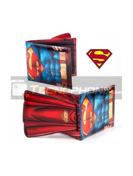 +Cartera billetero doble Superman