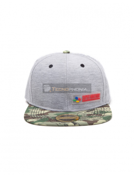 Gorra Nintendo camuflage