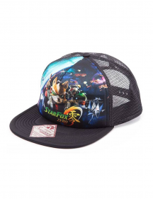 Gorra Nintendo Star Fox Zero Game Over