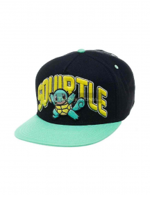 Gorra bordado 3D Pokemon - Squirtle