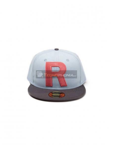 Gorra bordado 3D Pokemon - Team Rocket