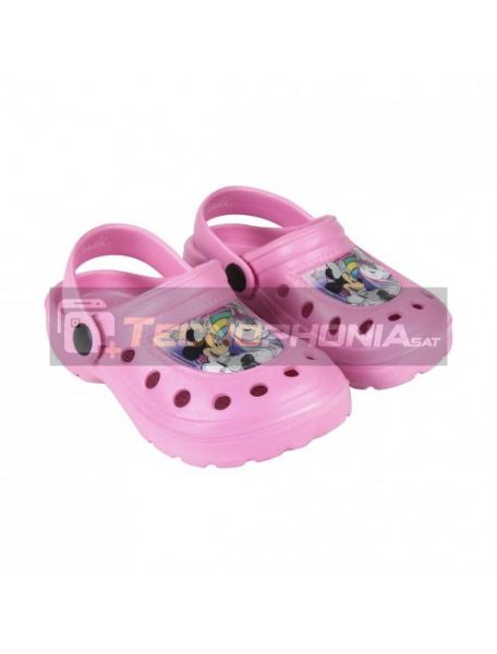 Zuecos niña Minnie Mouse - Unicornio rosa Talla 24 - 25